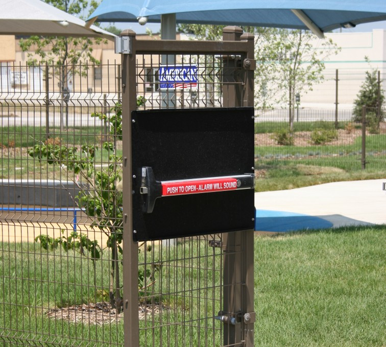 Des Moines Fence Company - Woven & Welded Wire Fencing, 1241 Omega Panic Door