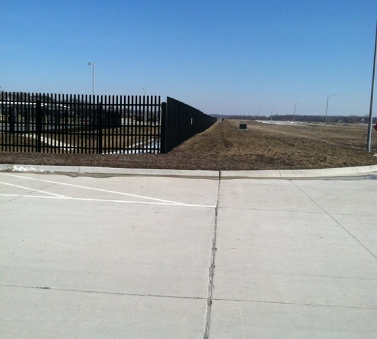 Des Moines Fence Company - K-Rated Vehicle Restraint Systems Fencing, 8' Crash Rated Ornamental Impasses - AFC - IA