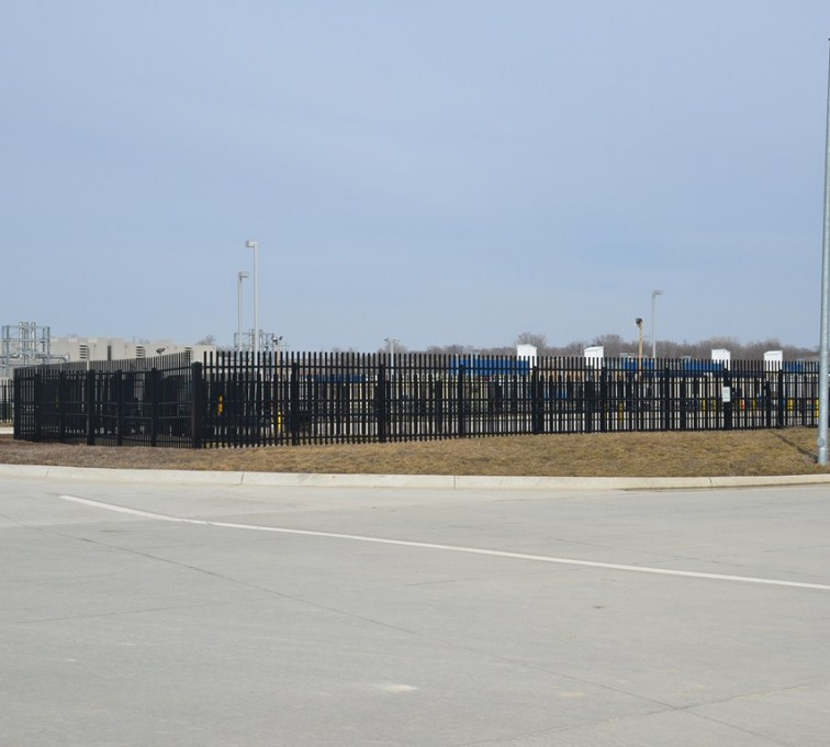 Des Moines Fence Company - K-Rated Vehicle Restraint Systems Fencing, 8' Crash Rated Ornamental Impasse - AFC - IA