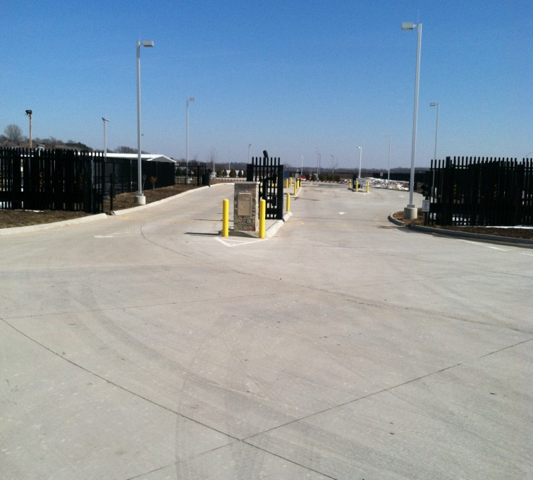 Des Moines Fence Company - K-Rated Vehicle Restraint Systems Fencing, 8' Crash Rated Ornamental Impasse 7 - AFC - IA